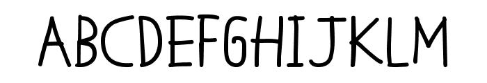 MTF Cool Kid Fat Font UPPERCASE