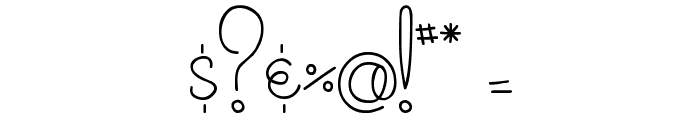 MTF Cupcake Font OTHER CHARS