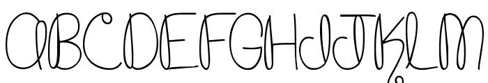 MTF Cupcake Font UPPERCASE