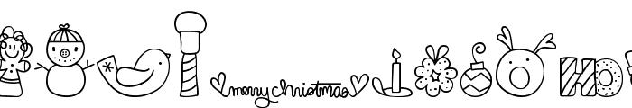 MTF Dear Santa Font UPPERCASE