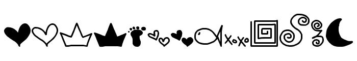 MTF Doodle Font UPPERCASE