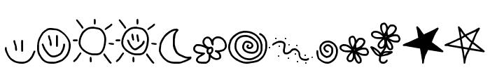 MTF Doodle Font LOWERCASE