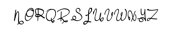 MTF Dreamie Font UPPERCASE