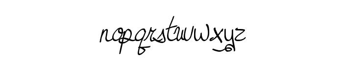 MTF Dreamie Font LOWERCASE