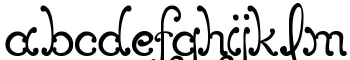 MTF Elegance Font LOWERCASE