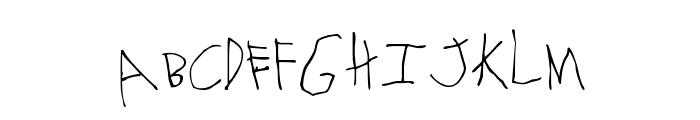 MTF Gavin Font UPPERCASE