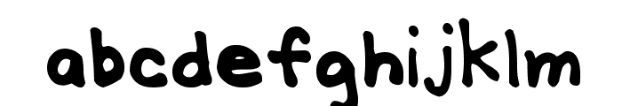 MTF Gridie Font LOWERCASE