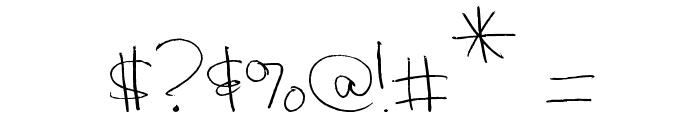 MTF Hoo Rah Font OTHER CHARS