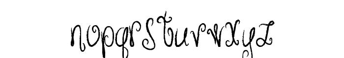 MTF Hunnie Font LOWERCASE