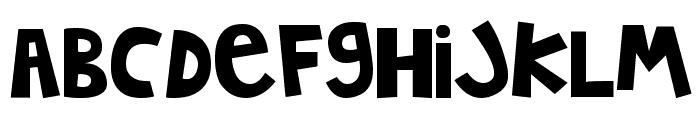 MTF Jumpin' Jack Font LOWERCASE