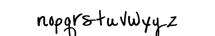 MTF Lexi Font LOWERCASE
