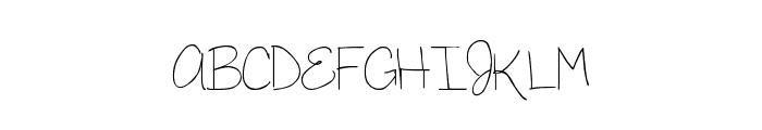 MTF Megan Font UPPERCASE