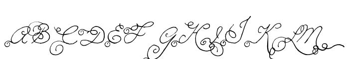 MTF Memory Font UPPERCASE