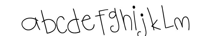 MTF Notebook Font UPPERCASE