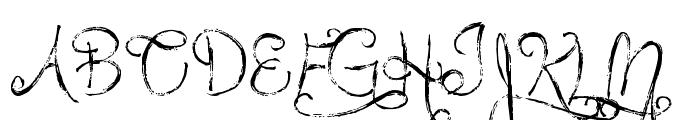 MTF Queen Of Sketchyland Font UPPERCASE
