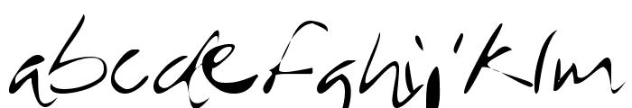 MTF Rever Font LOWERCASE