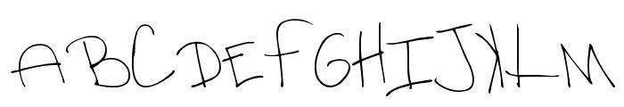 MTF Rhesa Font UPPERCASE