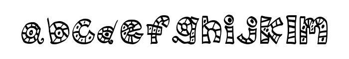 MTF Scribblie Font LOWERCASE