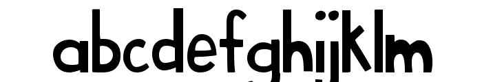 MTF Sweet Cheeks Font LOWERCASE