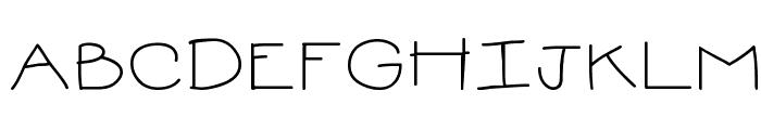 MTF Sweetie Font UPPERCASE