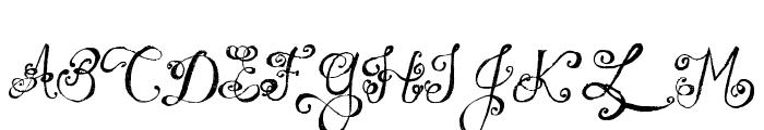 MTF Under Your Skin Font UPPERCASE