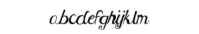 MTF Under Your Skin Font LOWERCASE