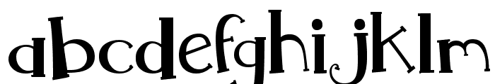 MTF Whimsy Font LOWERCASE