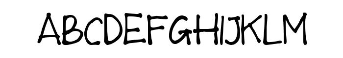 MTF Wulan Font UPPERCASE