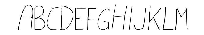 MTF akhn Font UPPERCASE