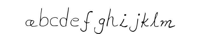 MTF akhn Font LOWERCASE