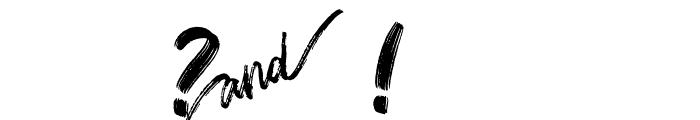 Mt. Blevas Font OTHER CHARS