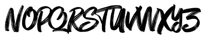 Mt. Blevas Font UPPERCASE