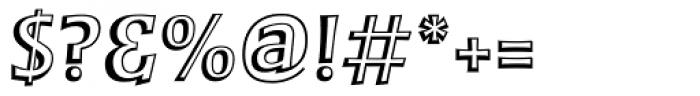 MT Zephyr Regular Font OTHER CHARS