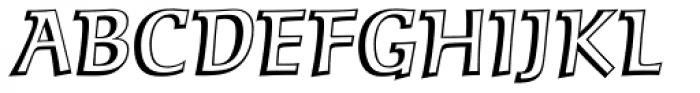 MT Zephyr Regular Font UPPERCASE