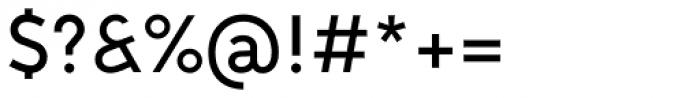 MTT Milano Medium Font OTHER CHARS