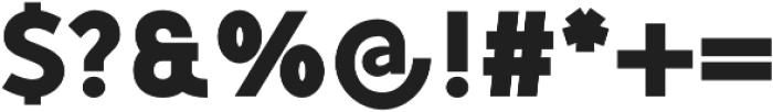 Mucho Sans Black otf (900) Font OTHER CHARS