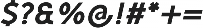 Mucho Sans Heavy Italic otf (800) Font OTHER CHARS