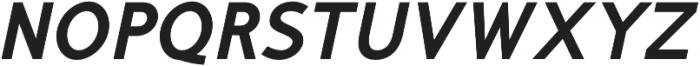 Mucho Sans Heavy Italic otf (800) Font UPPERCASE
