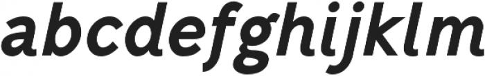 Mucho Sans Heavy Italic otf (800) Font LOWERCASE
