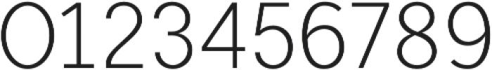 Mucho Sans Light otf (300) Font OTHER CHARS
