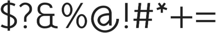 Mucho Sans Regular otf (400) Font OTHER CHARS