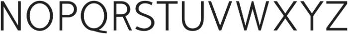 Mucho Sans Regular otf (400) Font UPPERCASE
