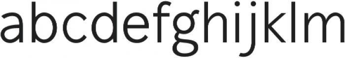 Mucho Sans Regular otf (400) Font LOWERCASE