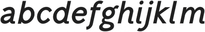 Mucho Sans otf (700) Font LOWERCASE