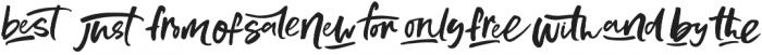 MuchoGusto Extras otf (400) Font UPPERCASE