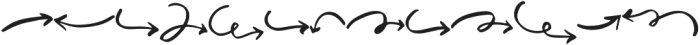 MuchoGusto Extras otf (400) Font LOWERCASE