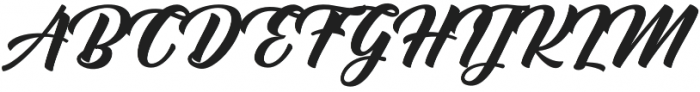Muctar otf (400) Font UPPERCASE