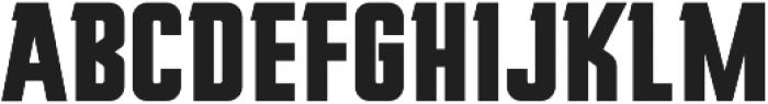 Mudhead Serif Bold otf (700) Font UPPERCASE