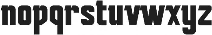 Mudhead Serif Bold otf (700) Font LOWERCASE