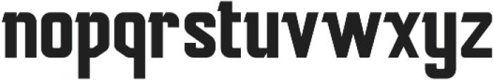 Mudhead Serif Regular otf (600) Font LOWERCASE